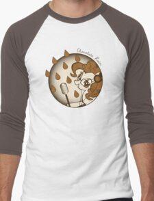 Chocolate Rain by Pinkie Pie Men's Baseball ¾ T-Shirt