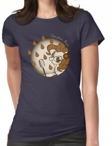 Chocolate Rain by Pinkie Pie Womens Fitted T-Shirt