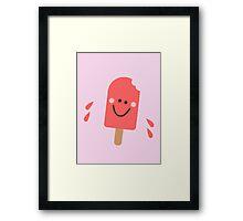 Popsicle Cards Framed Print