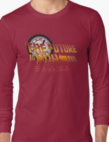Back to The Future is Now Time Machine T-Shirt