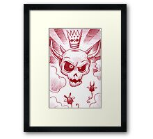 King of Clouds Framed Print