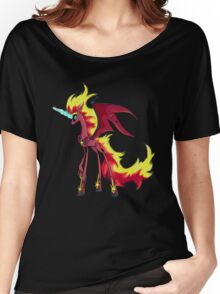 My Little Pony - MLP - Nightmare Sunset Shimmer Women's Relaxed Fit T-Shirt
