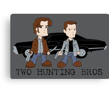 Two Hunting Bros Canvas Print