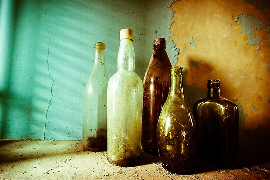 Bottles by Richard Pitman