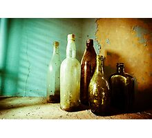 Bottles Photographic Print