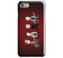 Sam, Dean, Castiel, Crowley iPhone Case/Skin
