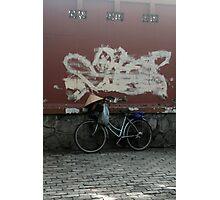 saigon bike Photographic Print