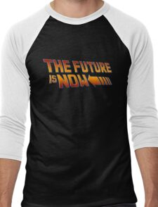 The Future is Now Men's Baseball ¾ T-Shirt