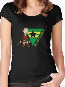 Big Damn Hero Women's Fitted Scoop T-Shirt