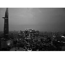 Saigon at dusk Photographic Print