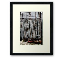 Once upon a time there was a Saigon garden... Framed Print
