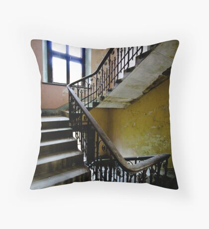 Straight to bed Throw Pillow