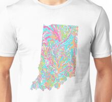 Lilly States - Indiana Unisex T-Shirt