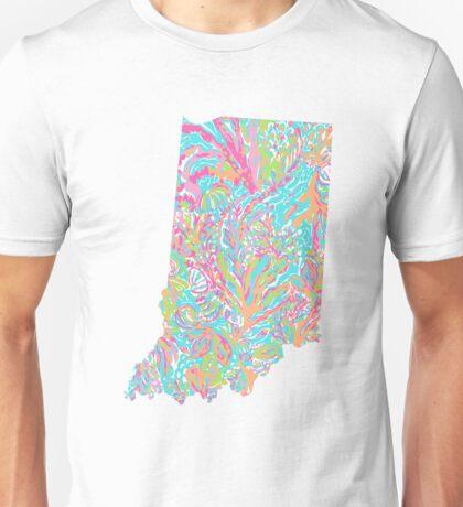 Lilly States - Indiana Unisex T-Shirt