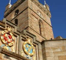 Linlithgow Palace Outer Gate and St Michaels Steeple Sticker