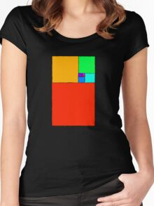 Golden ratio Women's Fitted Scoop T-Shirt