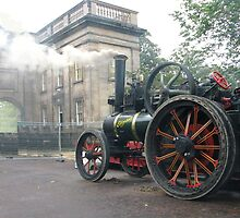 STEAM TRACTION ENGINE by gothgirl