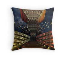 Temple Of The Galaxy Throw Pillow