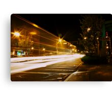 North End Superhighway Canvas Print