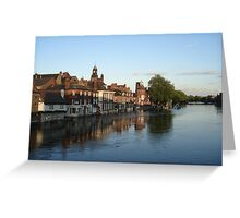 River Ouse Flooded, York Greeting Card