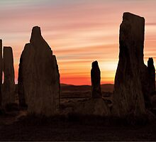 Ancient Scottish Standing Stones by David Alexander Elder