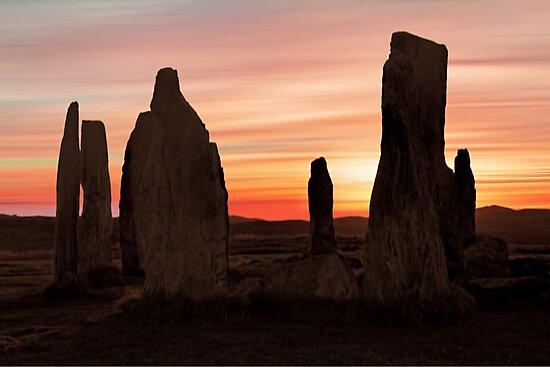 Ancient Scottish Standing Stones by David Alexander Elder