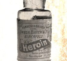 Bayer and Elberfeld Vintage Heroin by Kristina Gale