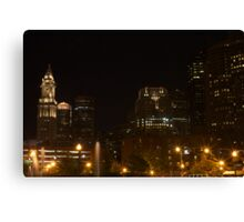 Nightline Canvas Print