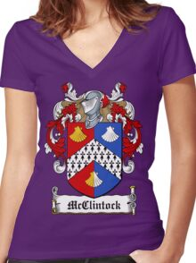 McClintock (Donegal) Women's Fitted V-Neck T-Shirt