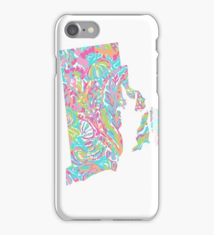 Lilly States - Rhode Island iPhone Case/Skin
