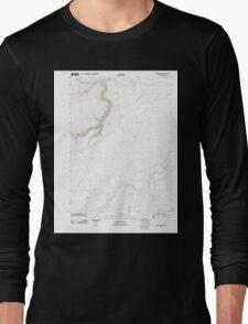 USGS Topo Map Oregon Oregon Butte 20110824 TM Long Sleeve T-Shirt