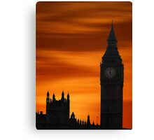 Big Ben Dusk Canvas Print