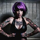 Kandy K - 3 tattoo by Andrew Johnson