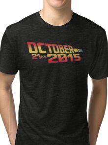 October twenty 21st 2015 Anniversary Tri-blend T-Shirt