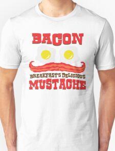 Bacon - Breakfast's Delicious Mustache Unisex T-Shirt