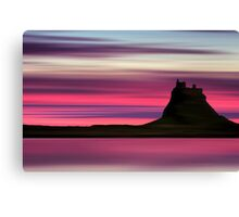 Dusk over Holy Island Canvas Print