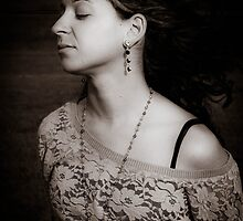 jewelry and a girl by Erin Fitzgibbon