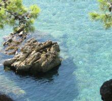 Beautiful Adriatic sea Sticker
