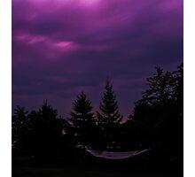 Night Hammock Photographic Print