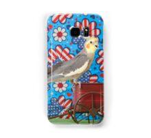 Cockatiel 3 Samsung Galaxy Case/Skin
