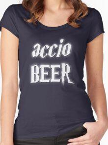 Accio Beer! Women's Fitted Scoop T-Shirt