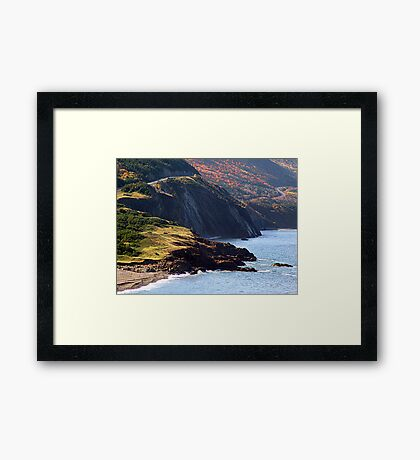 Autumn at Cap Rouge Framed Print