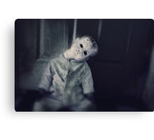 Anjelica the Neglected Doll Canvas Print