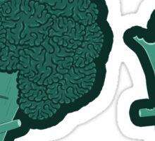 So Many Brains! Sticker