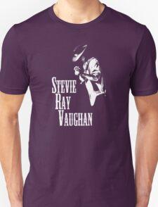 Stevie Ray Vaughan Mens Cotton Black T-Shirt T-Shirt