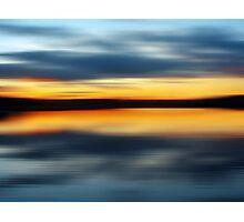 Lake Night Photographic Print