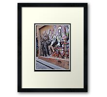 Guns of Graffiti Framed Print