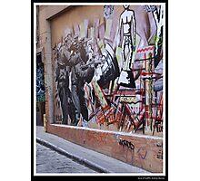 Guns of Graffiti Photographic Print