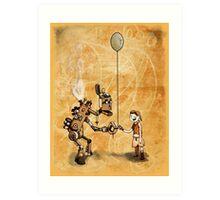 Robot Balloon Art Print