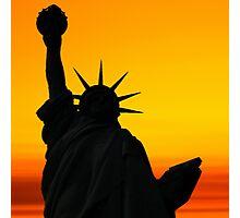 Liberty Dawn Photographic Print